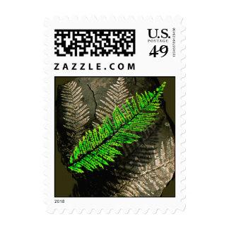 neuratt frond postage stamp