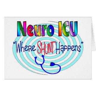 "NEURO ICU ""Where SHUNT Happens"" Cards"