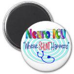 "NEURO ICU ""Where SHUNT Happens"" Magnets"