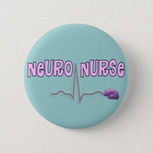 Neuro Nurse Gifts Button