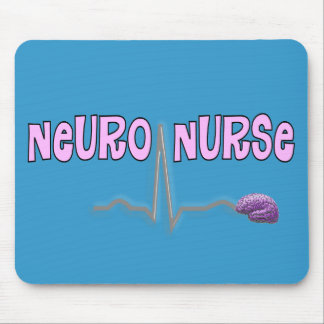 Neuro Nurse Gifts Mouse Pad