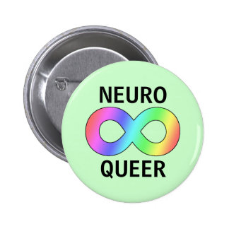 neuro queer pin