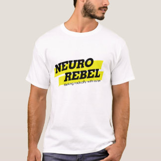 Neuro rebel thinking radically with autism shirt