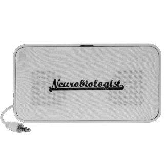 Neurobiologist Classic Job Design iPod Speakers