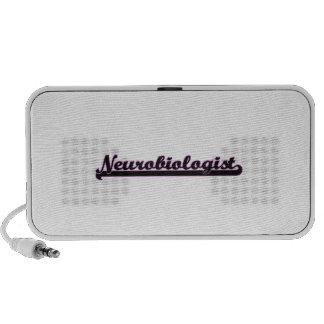 Neurobiologist Classic Job Design Mp3 Speakers