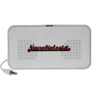 Neurobiologist Classic Job Design Mini Speakers