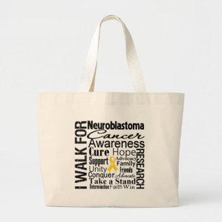 Neuroblastoma Cancer Awareness Walk Tote Bag