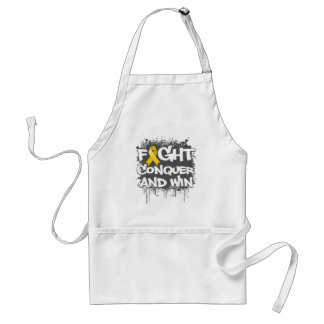Neuroblastoma Cancer Fight Conquer and Win Aprons