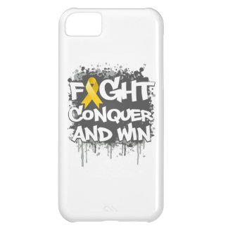 Neuroblastoma Cancer Fight Conquer and Win iPhone 5C Covers