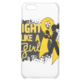 Neuroblastoma Cancer Fight Like A Girl Grunge iPhone 5C Covers