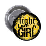 Neuroblastoma Cancer Fight Like A Girl Rock Ed. Buttons