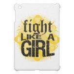 Neuroblastoma Cancer Fight Like A Girl Rock Ed. iPad Mini Covers
