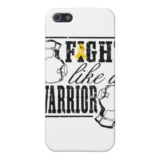Neuroblastoma Cancer Fight Like a Warrior Covers For iPhone 5