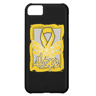 Neuroblastoma Cancer Hope Butterfly Portrait iPhone 5C Cases