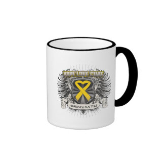 Neuroblastoma Cancer Hope Love Cure Coffee Mug