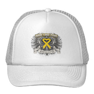 Neuroblastoma Cancer Hope Love Cure Hat