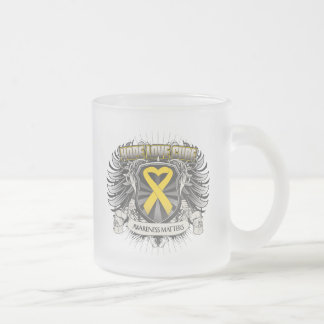 Neuroblastoma Cancer Hope Love Cure Mugs