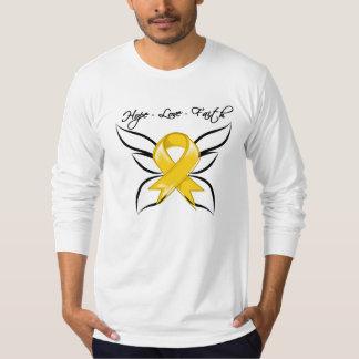 Neuroblastoma Cancer Hope Love Faith T-shirt