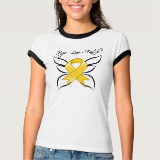 Neuroblastoma Cancer Hope Love Faith Tee Shirt
