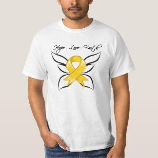 Neuroblastoma Cancer Hope Love Faith Tee Shirts
