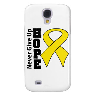 Neuroblastoma Cancer Hope Never Give Up Galaxy S4 Cases
