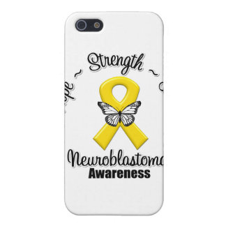Neuroblastoma Cancer Hope Strength Love Case For iPhone 5