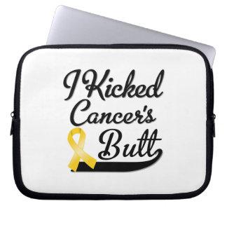 Neuroblastoma Cancer I Kicked Butt Laptop Sleeves