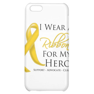 Neuroblastoma Cancer I Wear a Ribbon For My Hero iPhone 5C Cover