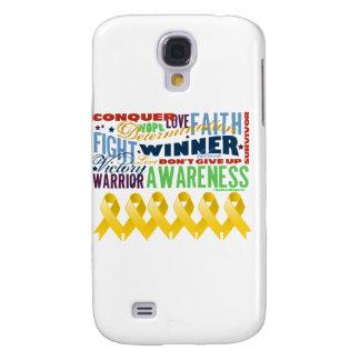 Neuroblastoma Cancer Inspirational Words Samsung Galaxy S4 Covers