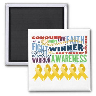 Neuroblastoma Cancer Inspirational Words Magnets