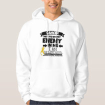 Neuroblastoma Cancer Met Its Worst Enemy in Me Hoodie