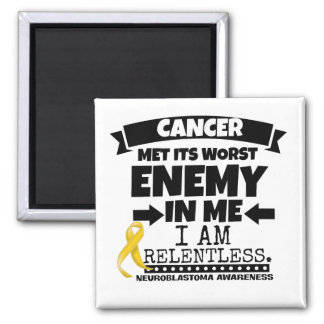 Neuroblastoma Cancer Met Its Worst Enemy in Me Magnet
