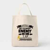 Neuroblastoma Cancer Met Its Worst Enemy in Me Tote Bag