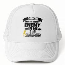 Neuroblastoma Cancer Met Its Worst Enemy in Me Trucker Hat