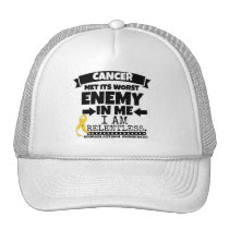 Neuroblastoma Cancer Met Its Worst Enemy in Me Trucker Hat