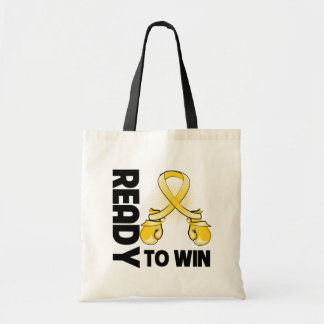 Neuroblastoma Cancer Ready To Win Budget Tote Bag