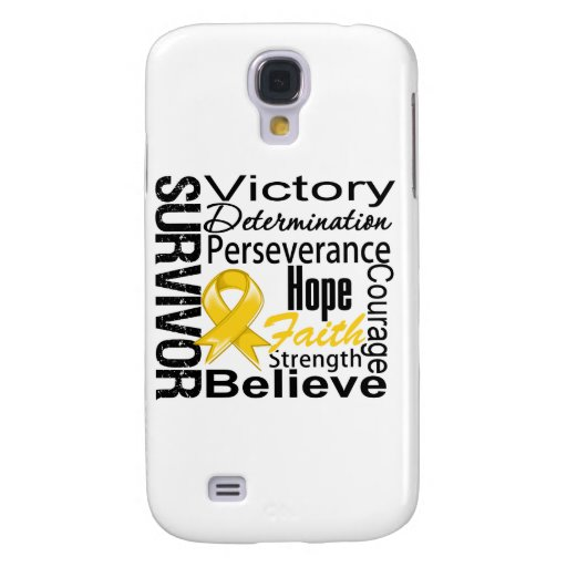 Neuroblastoma Cancer Survivor Collage Galaxy S4 Cases