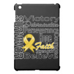 Neuroblastoma Cancer Survivor Collage iPad Mini Cover