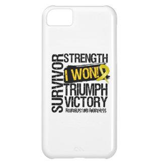 Neuroblastoma Cancer Survivor I Won iPhone 5C Cases