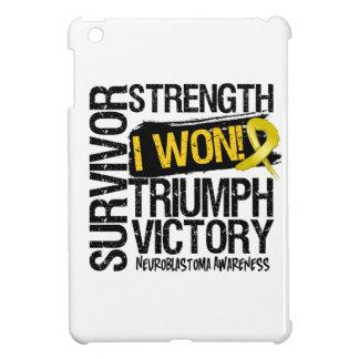Neuroblastoma Cancer Survivor I Won iPad Mini Covers
