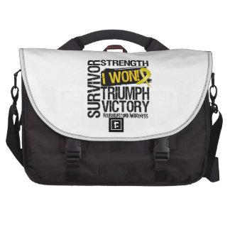 Neuroblastoma Cancer Survivor I Won Laptop Commuter Bag