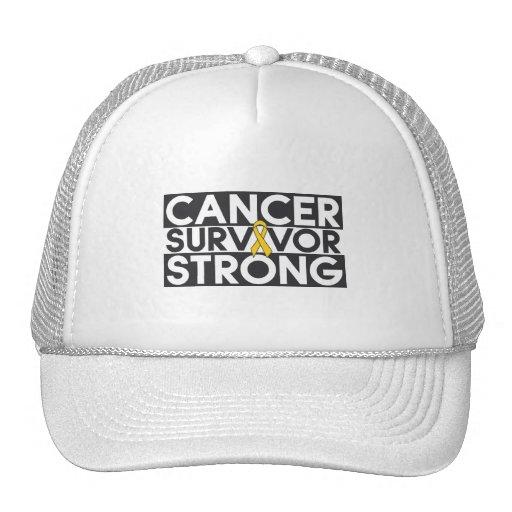 Neuroblastoma Cancer Survivor Strong Hats