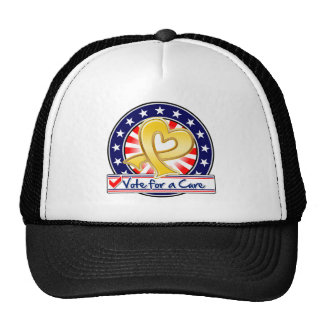 Neuroblastoma Cancer Vote For a Cure Hats
