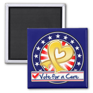 Neuroblastoma Cancer Vote For a Cure Fridge Magnets