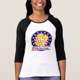 Neuroblastoma Cancer Vote For a Cure T Shirts