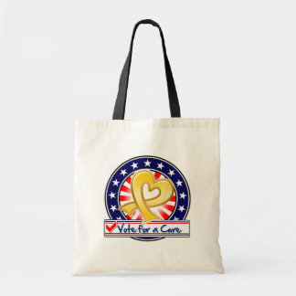 Neuroblastoma Cancer Vote For a Cure Tote Bags