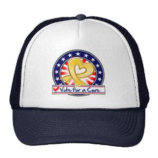 Neuroblastoma Cancer Vote For a Cure Trucker Hats
