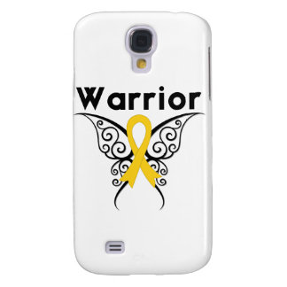 Neuroblastoma Cancer Warrior Tribal Butterfly Galaxy S4 Cases