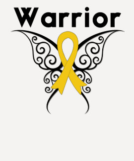 Neuroblastoma Cancer Warrior Tribal Butterfly T Shirts