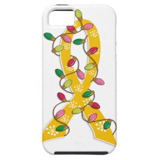 Neuroblastoma Christmas Lights Ribbon iPhone 5 Case
